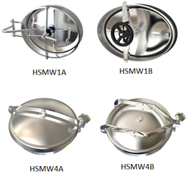 Hygienic Tank Manways and Tank Accessories